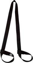 Yamkas Yogamat Draagriem - Yoga Mat Strap Sling Zwart