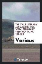 The Yale Literary Magazine; Vol. XXIV, February, 1859, No. IV, Pp. 133-178