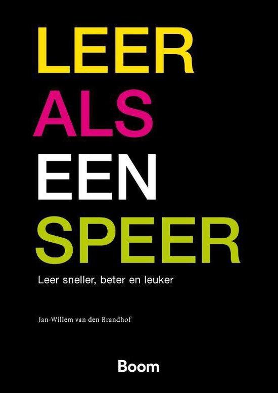 Leer als een speer - Jan-Willem van den Brandhof |