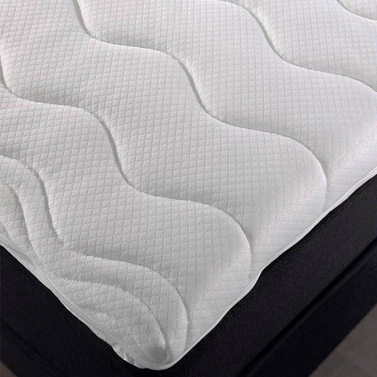 180x210 Topper - Dekmatras Nasa traagschuim c.a. 6 cm dik - SleepTech