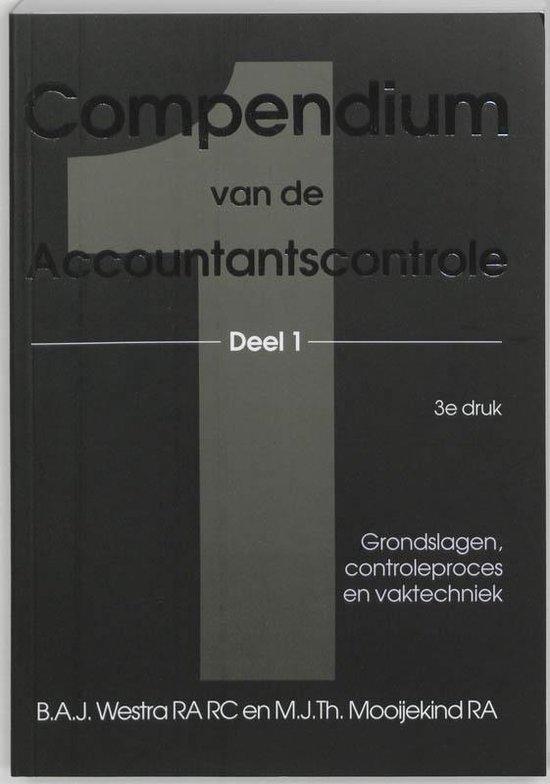 Compendium van de accountantscontrole 1 - B.A.J. Westra |