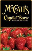 McCall's Candles 6 Candle Bars Fresh Strawberries