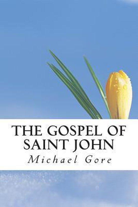 Boek cover The Gospel of Saint John van Ps Michael Gore (Paperback)
