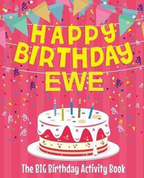 Happy Birthday Ewe - The Big Birthday Activity Book