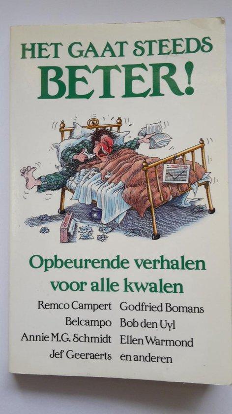 HET GAAT STEEDS BETER. OPBEURENDE V - ZRemco Campert |