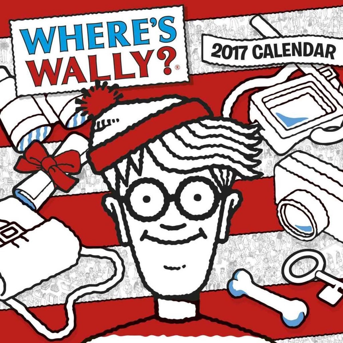 Where's Wally Kalender 2017 Carousel - Kalenderwereld