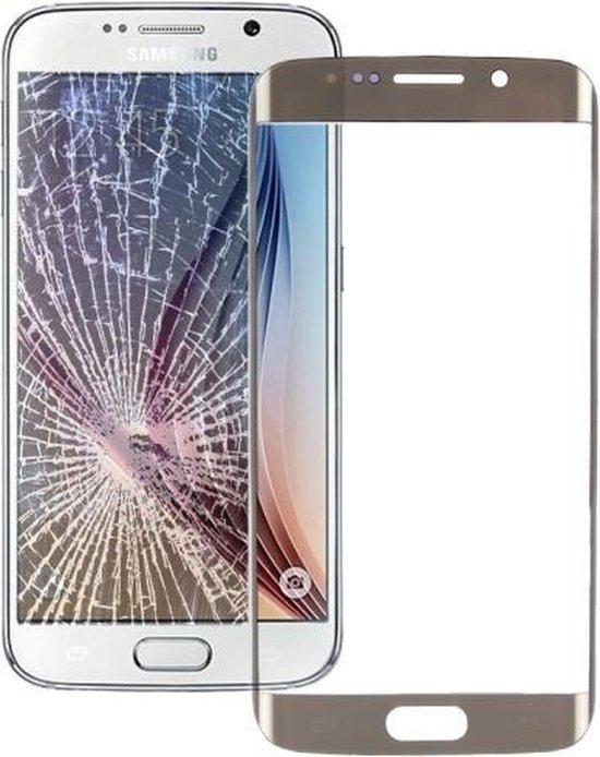 Front glas / scherm Samsung Galaxy S6 Edge Goud / Gold reparatie onderdeel G925