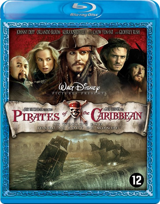 Cover van de film 'Pirates Of The Caribbean: At World's End'