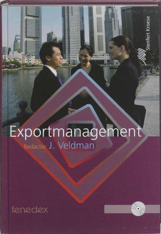 Boek cover Exportmanagement van P. de Blot (Paperback)