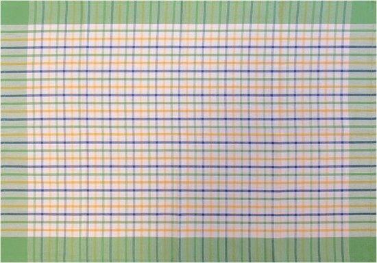Jorzolino Karo Theedoek (12 Stuks) - 50x70 cm - Green