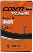Continental Compact 20 - Binnenband Fiets - Dunlop Ventiel - 40 mm - 20 x 1 1/4 - 1 3/8 - 1.75 - 2.00
