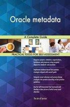Oracle Metadata