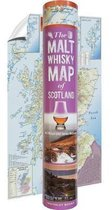 The Malt Whisky Map of Scotland (in a tube)