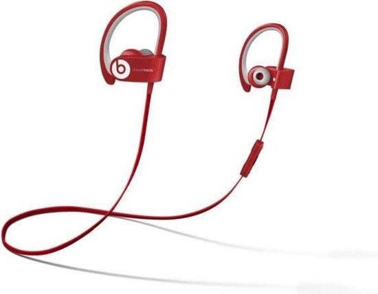 Beats by Dre Powerbeats2 Wireless - In-ear oordopjes met oorclip - Rood