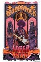 Poster-Woodstock-Jimi Hendrix-Loverman-70x100cm.