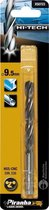 Piranha HI-TECH metaalboor 9,5mm X50723