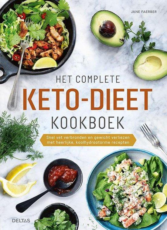 Boek cover Het complete keto-dieet kookboek van Jane Faerber (Hardcover)