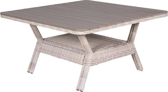 Garden Impressions - Milwaukee tuintafel 140x140 - passion willow