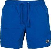 EA7 Boxer Beachwear Heren  Zwembroek - Maat XL  - Mannen - blauw