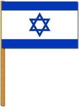 Luxe zwaaivlag Israel