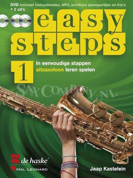 1 Easy Steps, methode voor altsaxofoon - J.J.P. Kastelein  