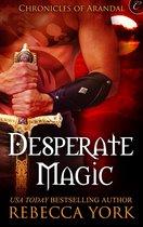 Omslag Desperate Magic