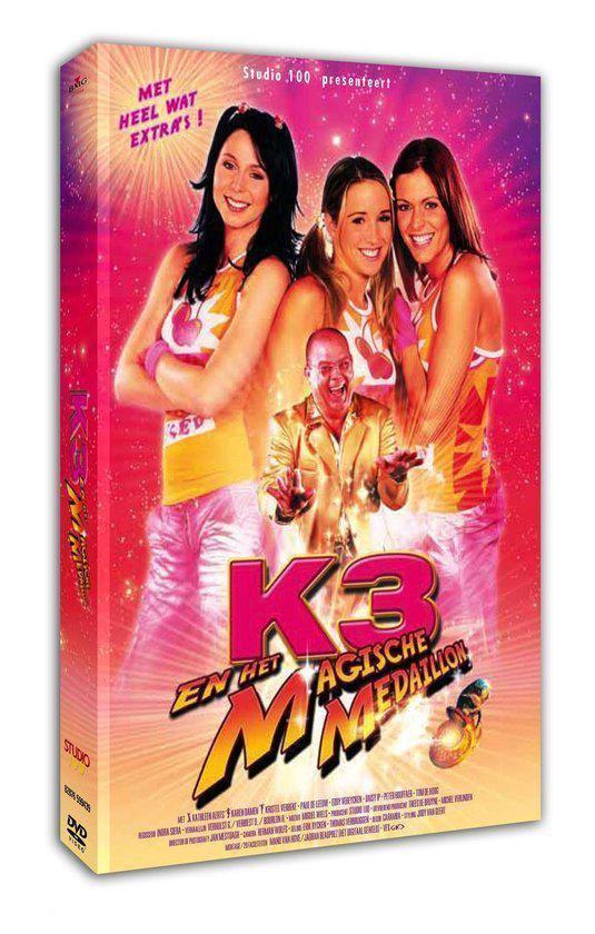 CD cover van K3 En Het Magische Medaillon (D) van K3