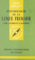 Physiologie de la langue française