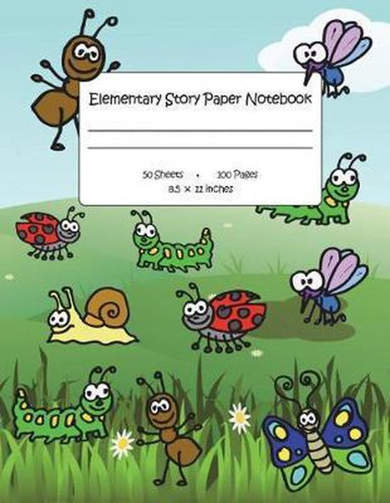 Elementary Story Paper Notebook