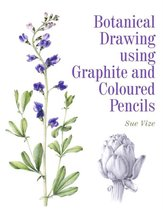 Botanical Drawing using Graphite and Coloured Pencils