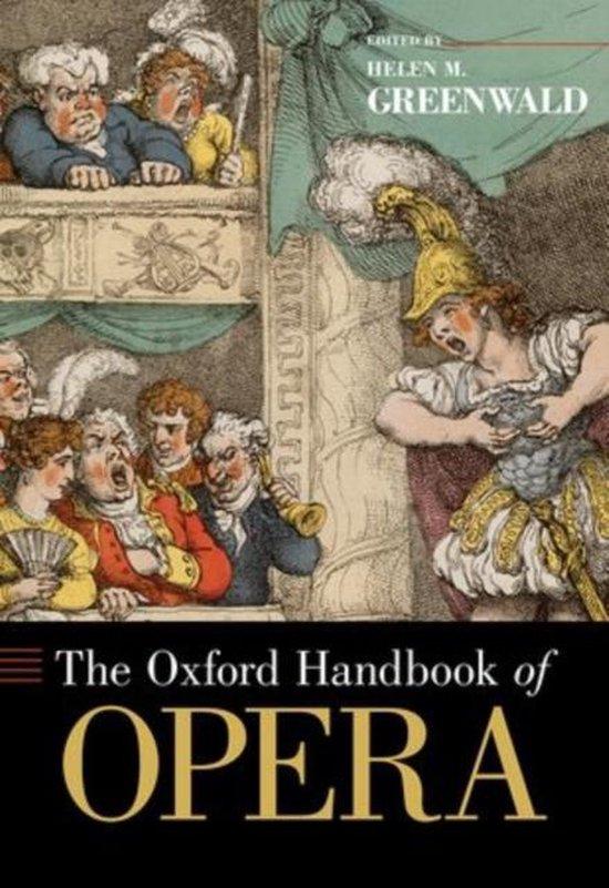 Afbeelding van The Oxford Handbook of Opera