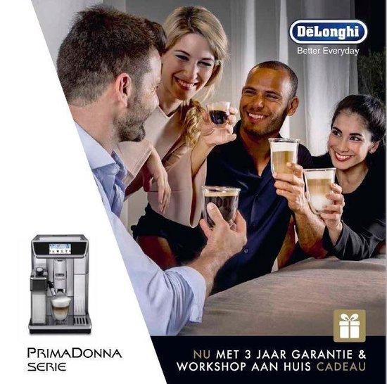 De'Longhi PrimaDonna Elite ECAM650.75.MS - Volautomatische Espressomachine