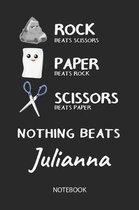 Nothing Beats Julianna - Notebook