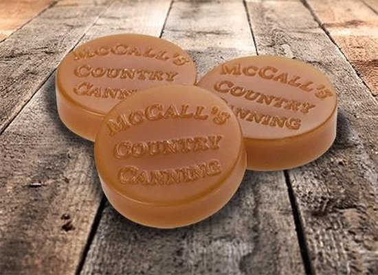 McCall's Candles Wax Melt Button Sunrise Cinnamon Bun - 3 stuks