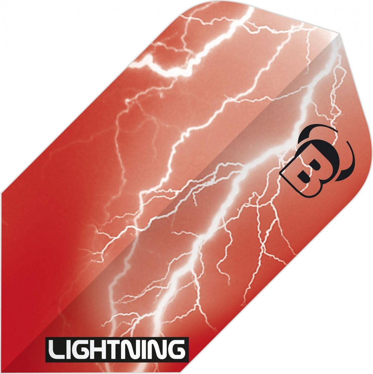 Bull's Flights Lightning Slim 100 Micron Rood