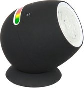 RANEX MOVING COLOURS LED MOVING COLOURS LAMP ZWART BLUETOOTH USB 6000.552