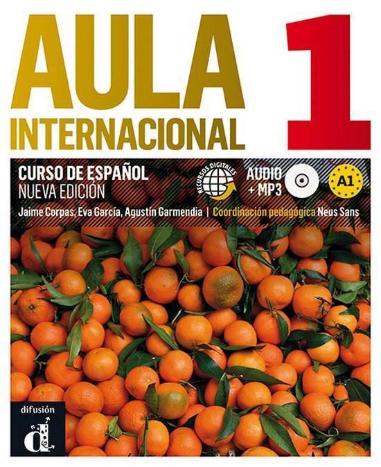 Aula internacional - nueva edición 1 libro+glosario+cd mp3