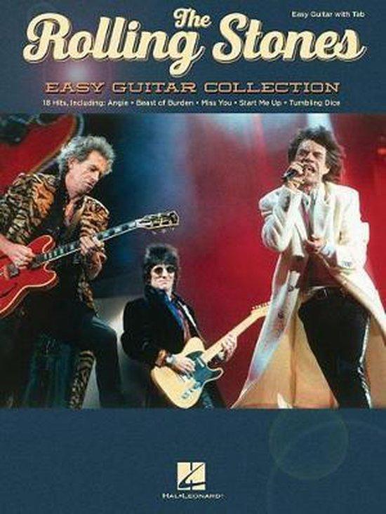 Boek cover The Rolling Stones - Easy Guitar Collection van  (Hardcover)