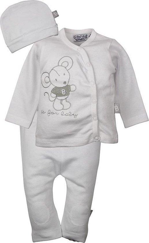 Dirkje babykleding 3-delig setje b is for baby maat 56
