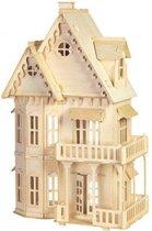 Bouwpakket Poppenhuis Gotisch Huis- groot