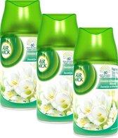 Air Wick Freshmatic - Navulling - Jasmijn & Witte Bloemen - 3 x 250 ml