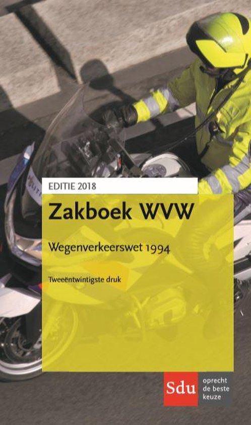 Zakboek wegenverkeerswet 1994 - A.C. van der Pluijm |