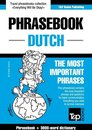 English-Dutch phrasebook and 3000-word topical vocabulary