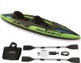 Intex Challenger K2 Kayak - Opblaasboot - 2-Persoons - 351 x 76 x 38 cm