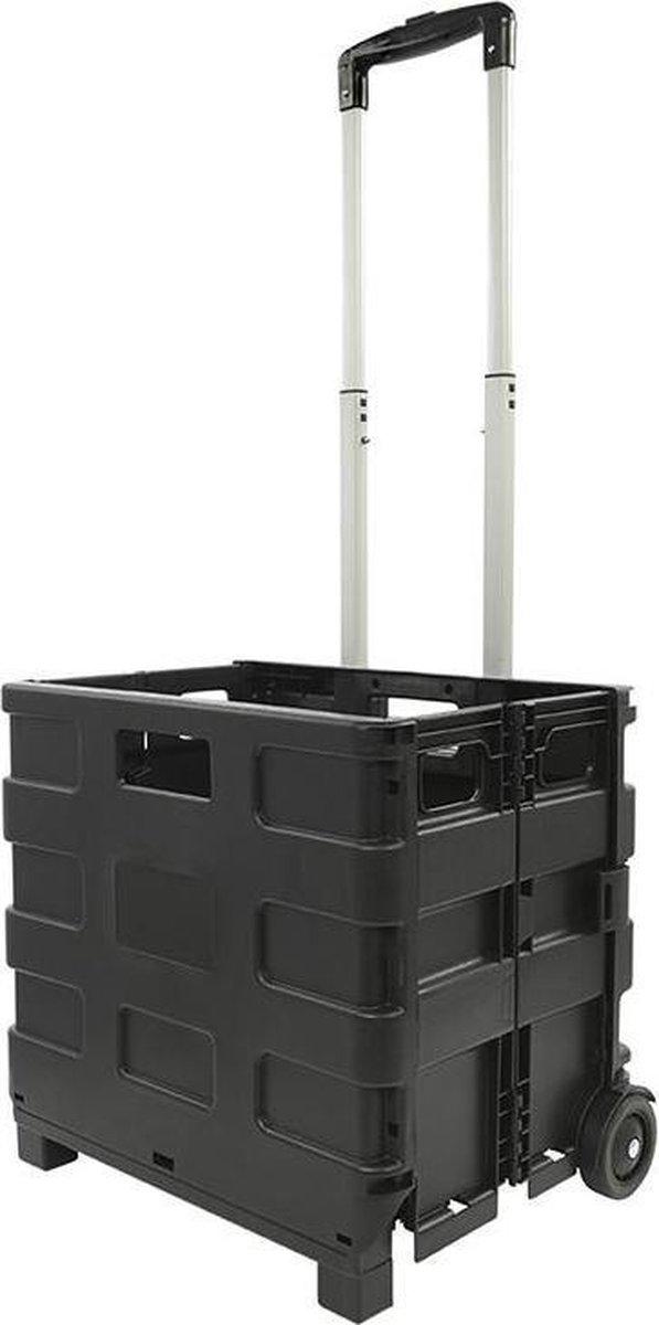 Pro+ Transport trolley met inklapbare krat 25kg