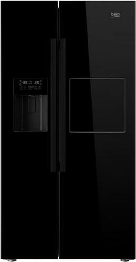 Koelkast: Beko GN162430P - Amerikaanse koelkast, van het merk Beko