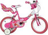 Dino 164r-09w Winx - Kinderfiets - Meisjes - Roze - 16 Inch