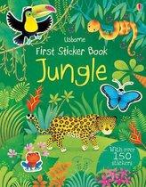 Boek cover First Sticker Book Jungle van Alice Primmer