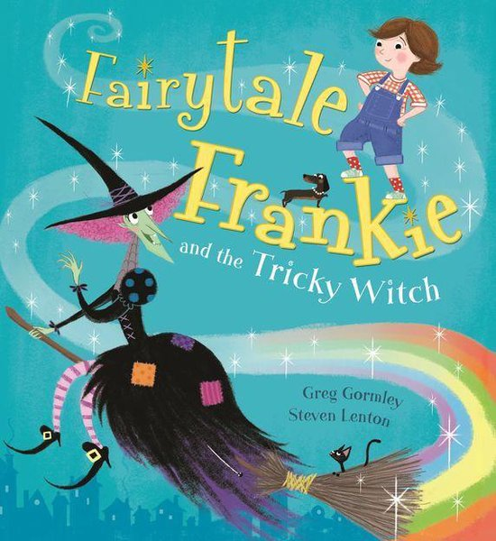 Boek cover Fairytale Frankie and the Tricky Witch van Greg Gormley (Onbekend)