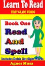 Book One Read And Spell First Grade Words